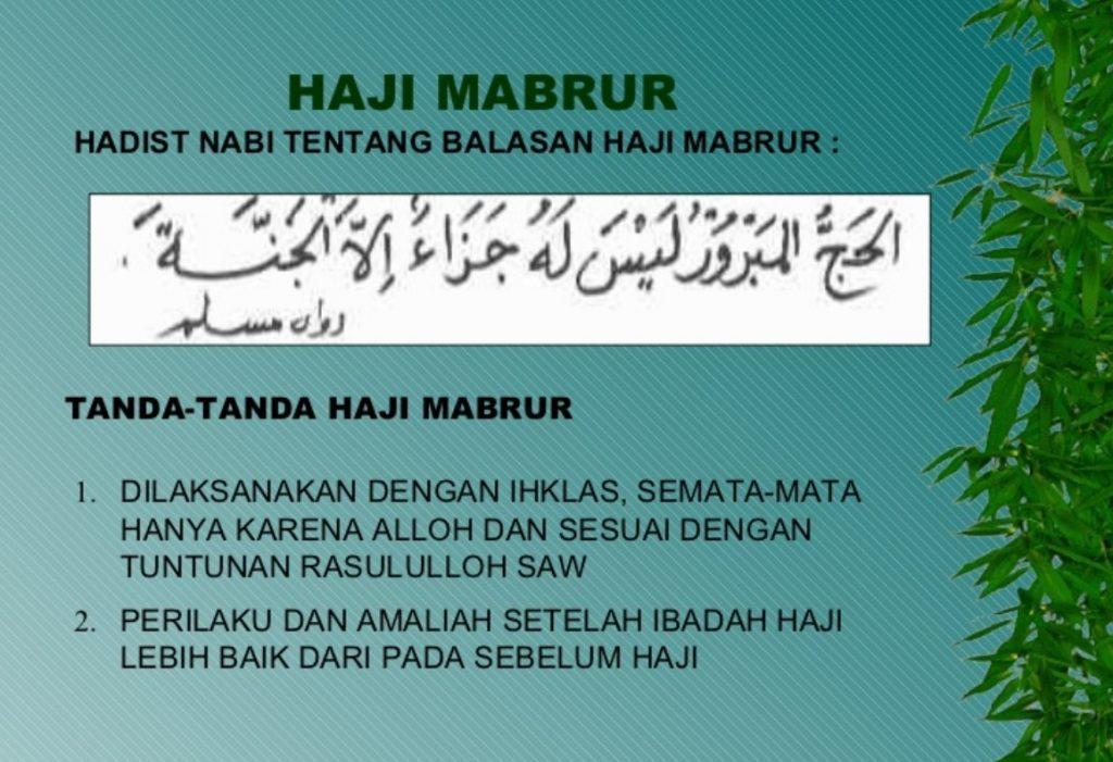 Haji Mabrur: Pengertian dan Ciri-Ciri Haji Mabrur