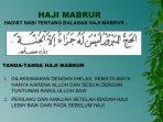 Haji Mabrur: Pengertian Haji Mabrur dan ciri-cirinya