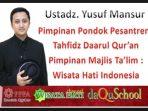 Kisah Ustadz Yusuf Mansur Pergi Haji