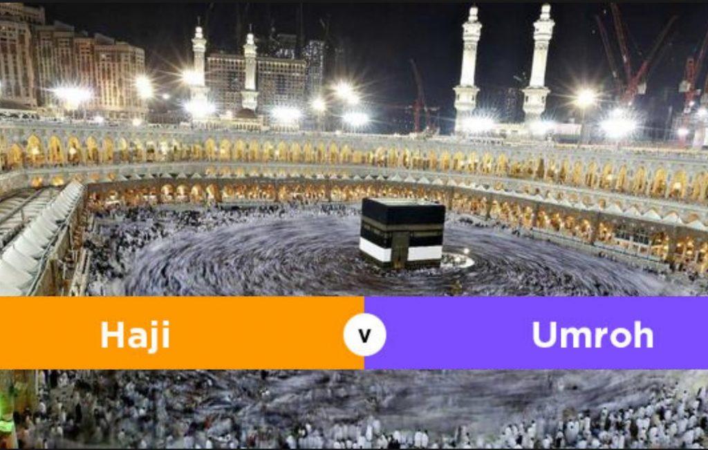 Perbedaan Ibadah Haji dan Ibadah Umrah